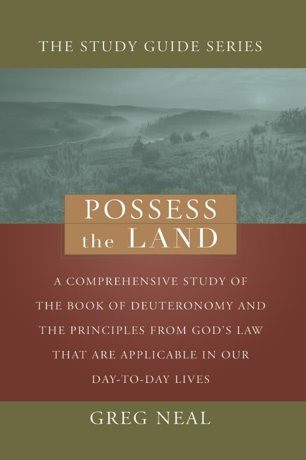 Possess The Land - Pastor Greg Neal